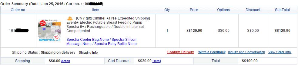 Spectra 9+ Electric Breast Pump