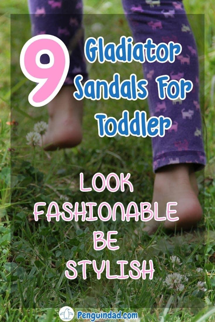 toddler girl gladiator sandals