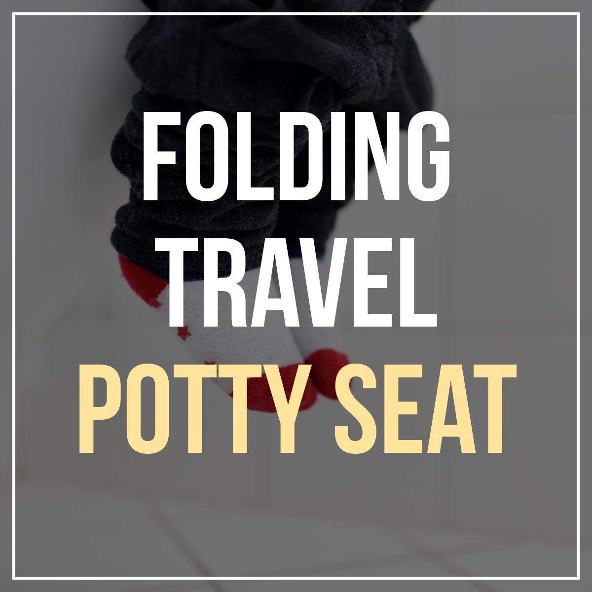 Folding Travel Potty Seat
