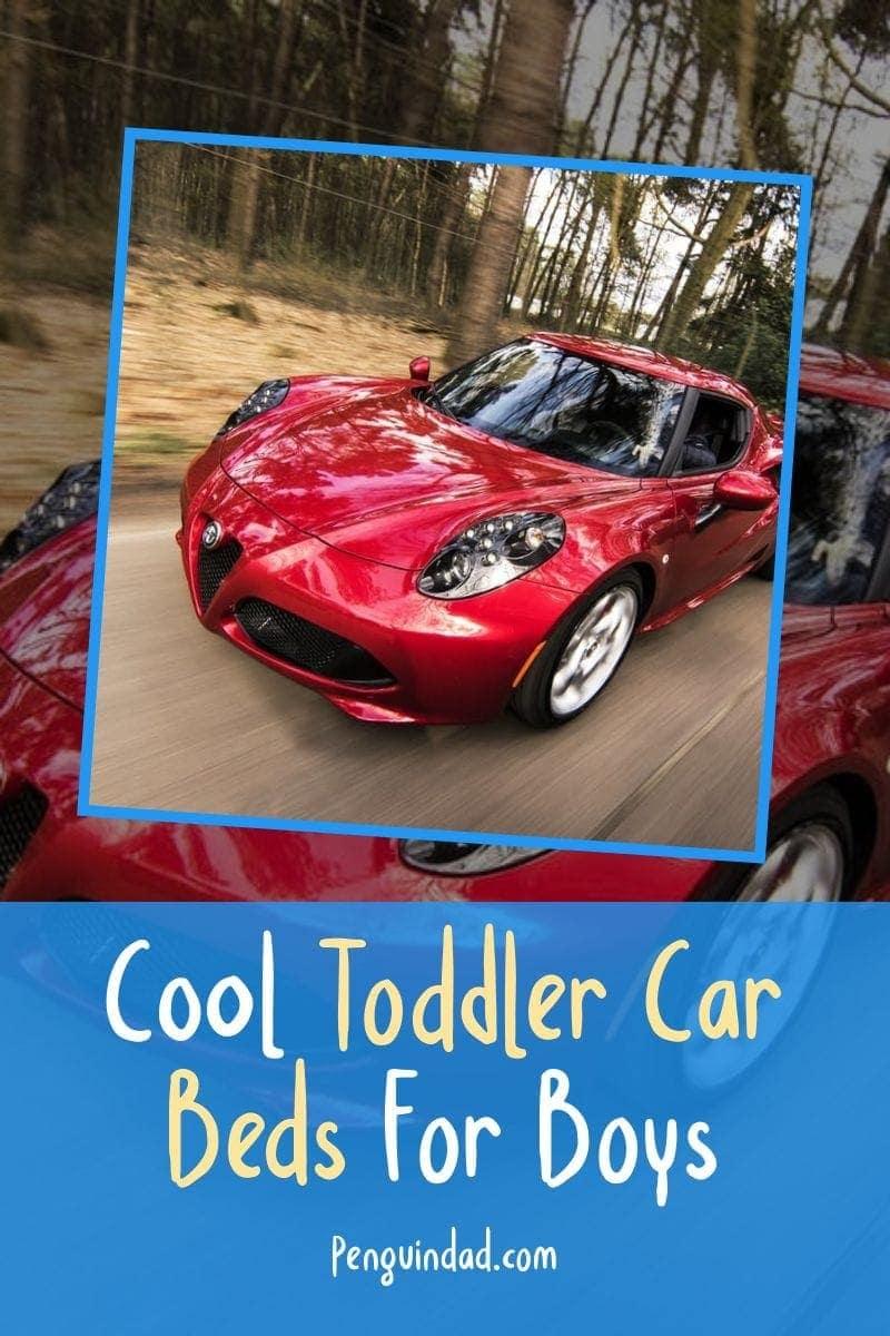Cool Toddler Car Beds For Boys-Pin